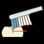 奥歯の磨き方