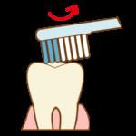 奥歯の磨き方2